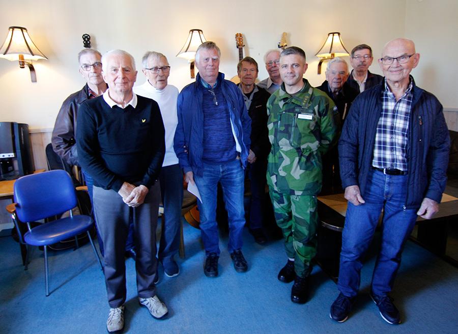 C K3 överste Ola Barvér besökte Kamratföreningen