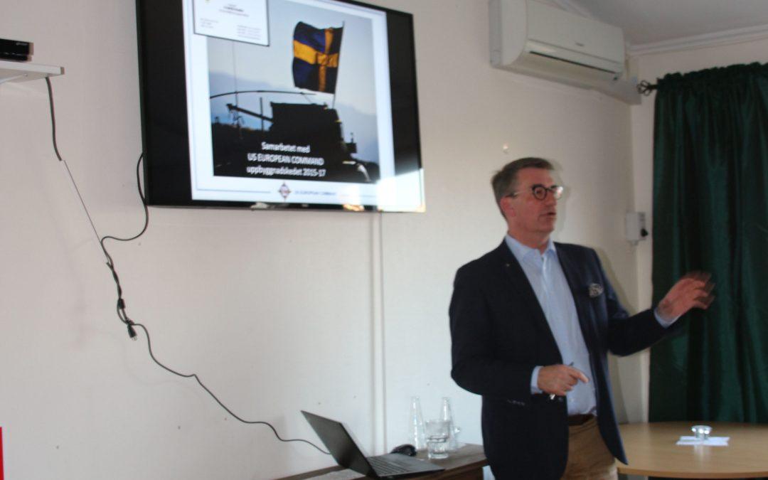 Fredrik Hedén gästar kamratföreningen
